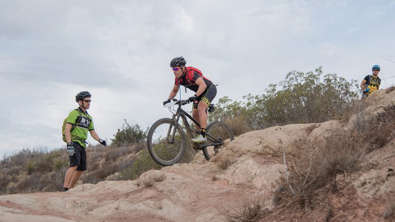 Mountain Bike Skills clinics in Santiago Oaks