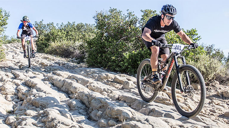 Mountain Bike Race in Aliso Woods