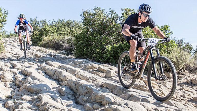 Mountain Bike Race in Aliso Woods