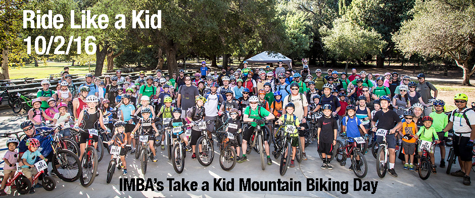 Take A Kid Mountain Biking October 2