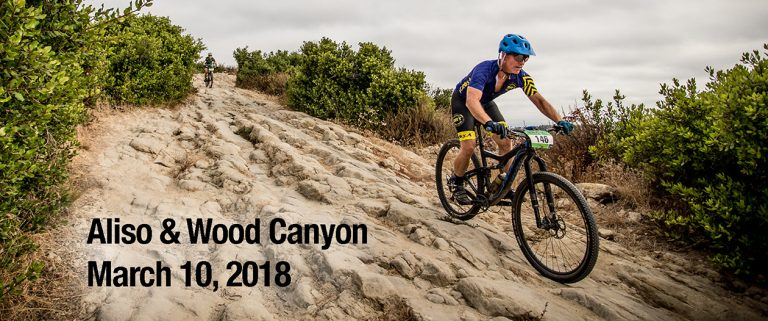 Aliso woods mountain bike race