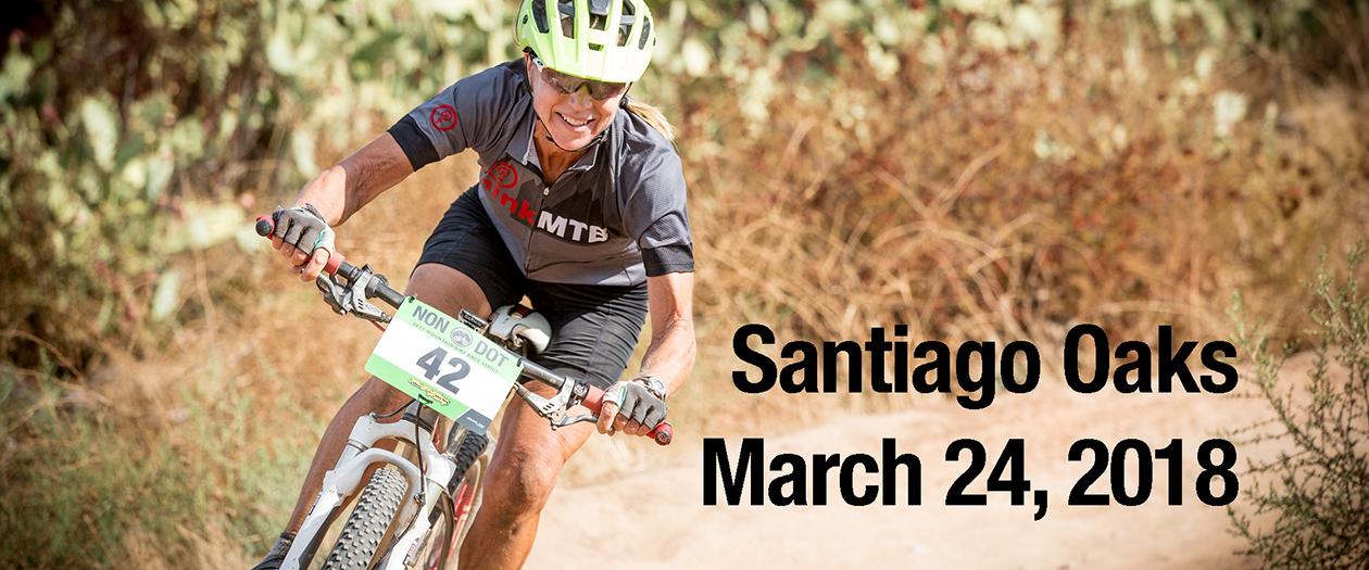 Santiago Oaks cross country mountain bike race